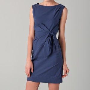 DIANE VON FURSTENBERG | New Della Blue Midi Dress